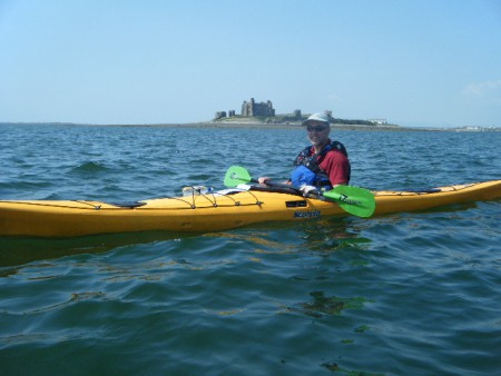 Chief-AdventureMaker-Dave-enjoying-a-day-sea-kayaking