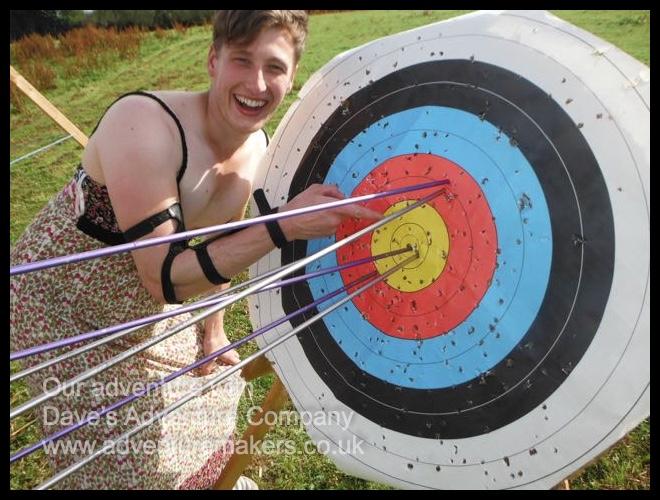 A proud archer