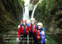 Coniston Ghyll Scrambling team