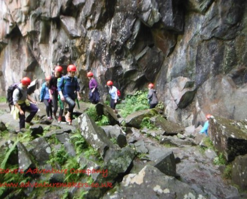 160824 WEMS Lake District Abseil - 1