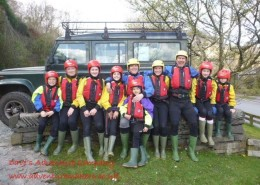 family ghyll scramble