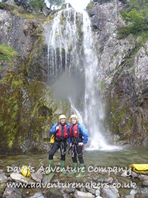 Lake District canyoneers
